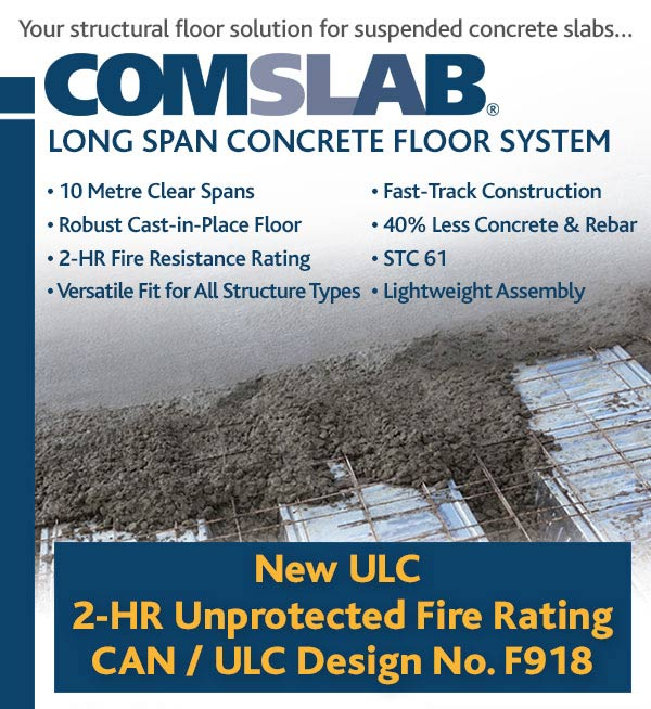 Bailey Metal has three ULC listings for fire resistance ratings of generic load bearing assemblies: