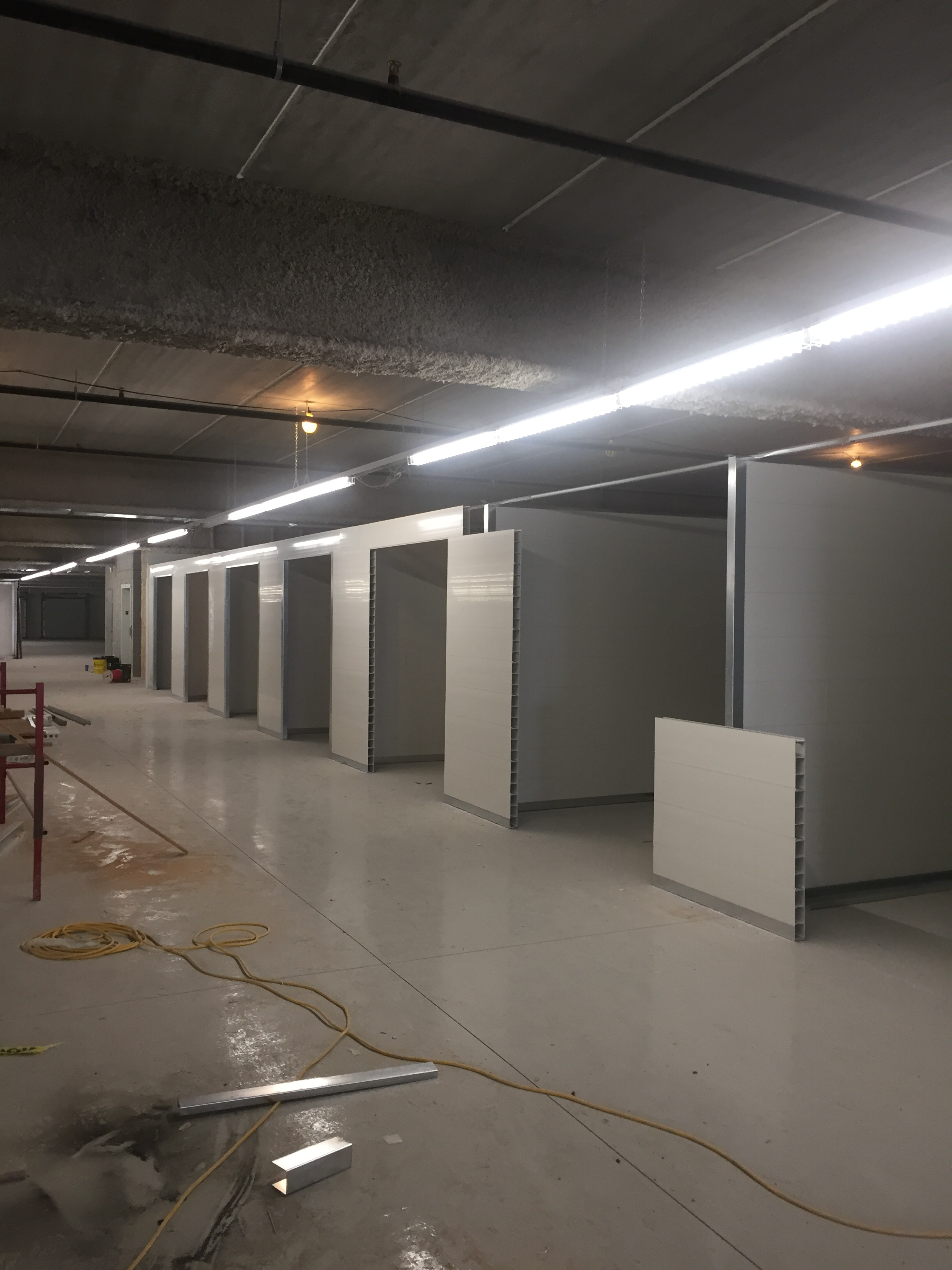 Storage Facility using Special Sections & Custom Profile