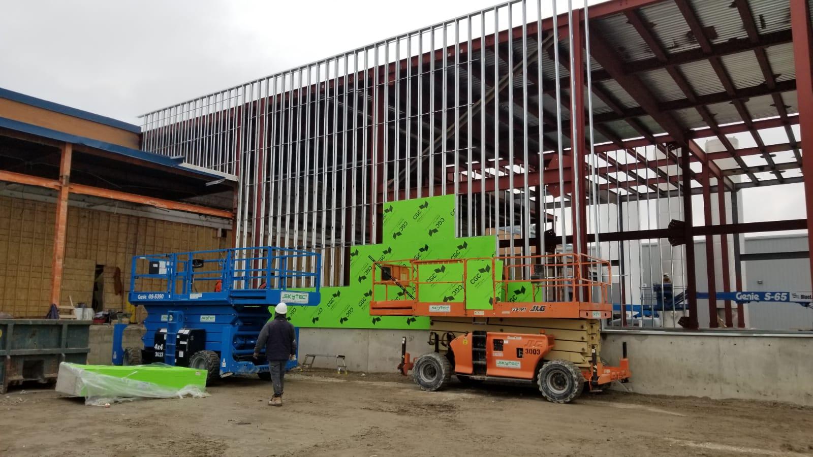 Bailey Heavy Gauge Steel Studs for External Framing